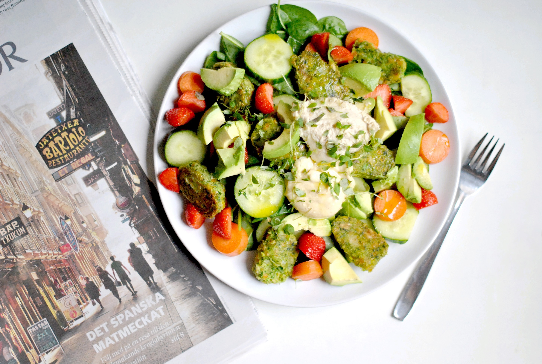 vegan sallad recept